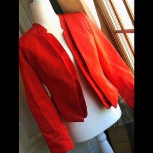 Great orange Taylor blazer